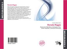 Portada del libro de Renato Riggio