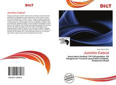 Capa do livro de Juninho Cabral