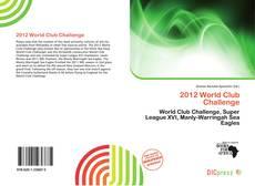 Copertina di 2012 World Club Challenge