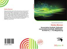 Bookcover of Heiko Bonan