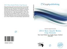 Bookcover of 2012 New South Wales Cup Season