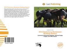 Borítókép a  2012 Canterbury-Bankstown Bulldogs Season - hoz
