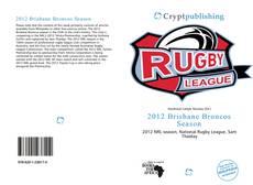 Copertina di 2012 Brisbane Broncos Season