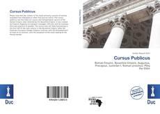Copertina di Cursus Publicus