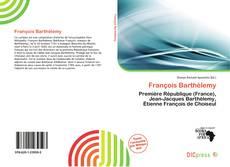 Обложка François Barthélemy