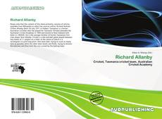 Richard Allanby kitap kapağı