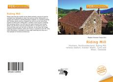 Copertina di Riding Mill
