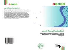 Buchcover von Jordi Roca (footballer)