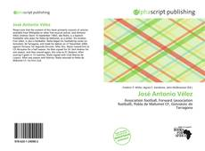 Bookcover of José Antonio Vélez