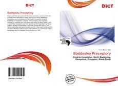 Copertina di Baddesley Preceptory