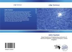 Buchcover von John Saxton