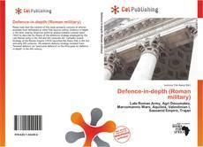Capa do livro de Defence-in-depth (Roman military)