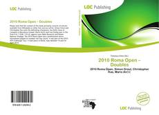 Bookcover of 2010 Roma Open – Doubles