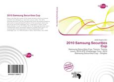 Bookcover of 2010 Samsung Securities Cup