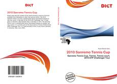 Bookcover of 2010 Sanremo Tennis Cup