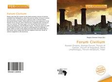 Bookcover of Forum Civilium
