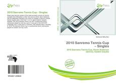 Bookcover of 2010 Sanremo Tennis Cup – Singles
