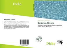 Buchcover von Benjamin Simons