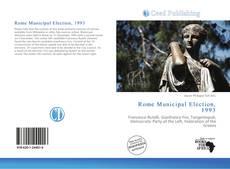 Обложка Rome Municipal Election, 1993