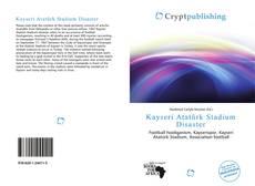 Kayseri Atatürk Stadium Disaster kitap kapağı