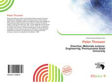 Bookcover of Peter Thrower