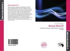 Обложка Rowan Sherriff