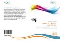 Harold A. Wilson (physicist) kitap kapağı