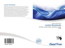 Capa do livro de Lynton Rowlands