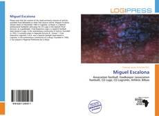 Portada del libro de Miguel Escalona