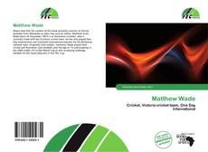 Bookcover of Matthew Wade