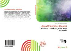 Bookcover of Anna University, Chennai