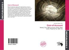 Bookcover of Coin of Account