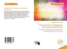 Couverture de University of Applied Sciences Biberach