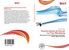 Обложка Charles-César de Fay de La Tour-Maubourg