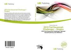 2010 Tail Savannah Challenger – Singles的封面