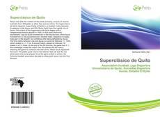 Bookcover of Superclásico de Quito