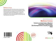 Buchcover von Mathew Inness