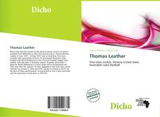 Buchcover von Thomas Leather