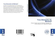 Couverture de Yves Alexandre de Marbeuf