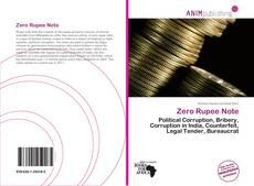 Bookcover of Zero Rupee Note