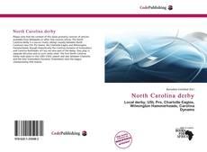 Portada del libro de North Carolina derby