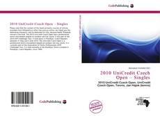 Portada del libro de 2010 UniCredit Czech Open – Singles