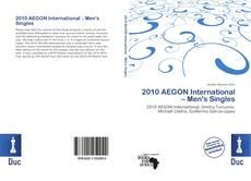 Bookcover of 2010 AEGON International – Men's Singles