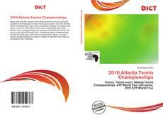 Buchcover von 2010 Atlanta Tennis Championships