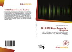 Bookcover of 2010 BCR Open Romania – Doubles