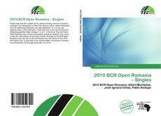Bookcover of 2010 BCR Open Romania – Singles