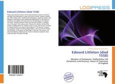 Edward Littleton (died 1558) kitap kapağı