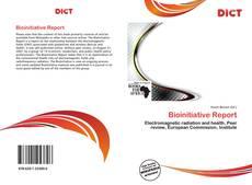 Bookcover of Bioinitiative Report