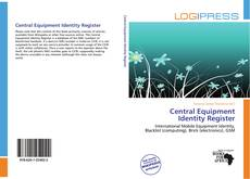 Portada del libro de Central Equipment Identity Register