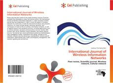 Обложка International Journal of Wireless Information Networks